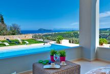 great sea views / Stunning sea views offered by beautiful resorts at the most magnificent locations of Crete