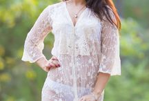 Boudoir Collection / Romantic robes perfect for bridal boudoir shoot from robesbysilkandmore
