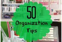 50 organisation tips / Home