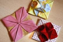 оригами fabric