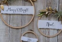 Embroidery hoops crafts