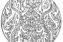 Mandala Coloring Pages for Adults / Free printable coloring pages for adults.