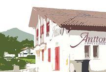 Espelette, notre village SO PIMENTE! / Découvrez notre village, Espelette (Pyrénées Atlantiques) où se trouve notre boutique!