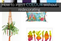 Brilliant Brights for Colourful Homes / Bold and beautiful interiors inspiration for colour-loving family homes.