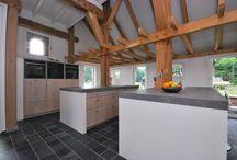 Modern Landelijk keukens / Modern countryish style kitchen