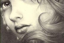 Πορτρέτο Με Μολύβι