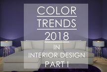 Color Trends 2018 in Interior Design / https://www.youtube.com/channel/UC_RRra4iIokdRnKaVa-qqjQ, #interiordesign, #colortrends, #colortrends2018, #interiordesign2018, #design2018, #puprle, #coloroftheyear, #purplecolor, #violet