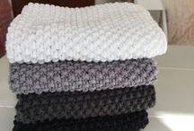 strikkede vaskeklude