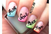 Nail art and colours