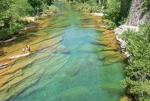 Le long des fleuves