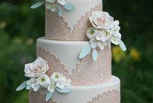 wedding & aniversary cake