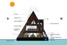 House boat - Architecture