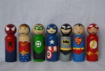 Little Peggys (My peg dolls) / Links to my Etsy shop