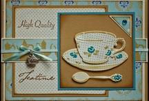 Taart / koffie kaarten