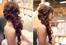 Hair and make-up for wedding