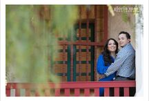 Botanical Gardens Engagement session  / Lovely engagement session in Santa Barbara by Gloria Mesa Photography