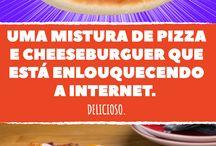 Pizza/cheesburguer