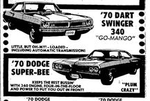 MOPAR sales ads from the 1970's / Dodge / Plymouth