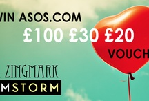 EBBA ZINGMARK /ASOS VOUCHERS/COMPETITION
