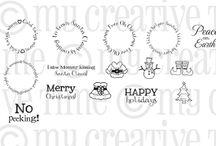 All Around Christmas / Inspiration for this stamp set!