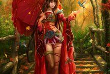 Art, Fantasy, Female