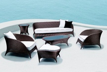 Modloft Outdoor / Things we're designing for your MODLOFT contemporary outdoor oasis, from lounging to dining.