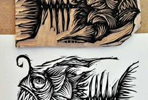 Arty Farty Lino Cuts
