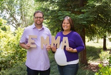 Our maternity photos by Faye Champlin / by Leslie Canada