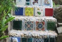 mozaiek - trappen