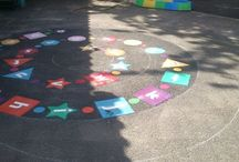 Playground Games / We can provide a variety of locations with playground games markings to enhance your play facility!