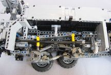 Lego Suspension Systems