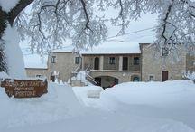 Neve Abruzzo / Paesaggi innevati nel Borgo