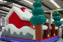 Christmas Bounce House at Lower Price