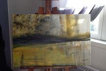 Retour a l abstrait / Peinture acrylique