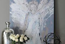 angel mood board