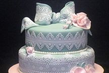 Baby shower cakes / by Joan Mclain