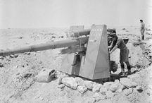 German 88mm Flak guns