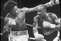 Boxing / Pictures of Marvin Hagler, Tommy Hearns, Muhammed Ali