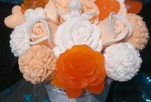 Moje  mydla   soap bouquet
