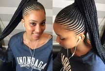 Black girl braids