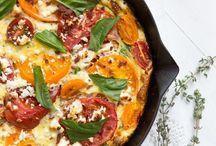 Pizzas & frittatas