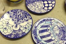 Cerámica diseños de platos