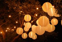 Hanging Lanterns / A selection of our Hanging Lantern installations.  With the exception of the inspiration images, all images are our own.