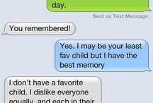 Funny messages that people sent