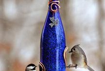 Wine bottles crafts