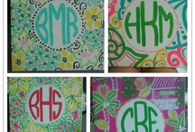 crafting: sorority time. / by Katie Nolan