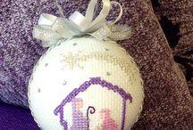 cross stitch balls