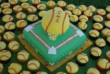 Softball End of Season Pool Party / End of season softball party decor & food ideas / by Christine Murphy