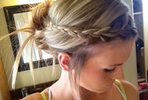 Vintage hairstyles for brides