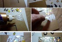 Oggetti artistici fatti a casa